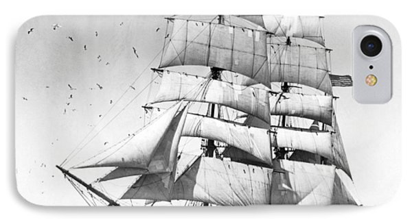 Tall Sailing Ship IPhone Case