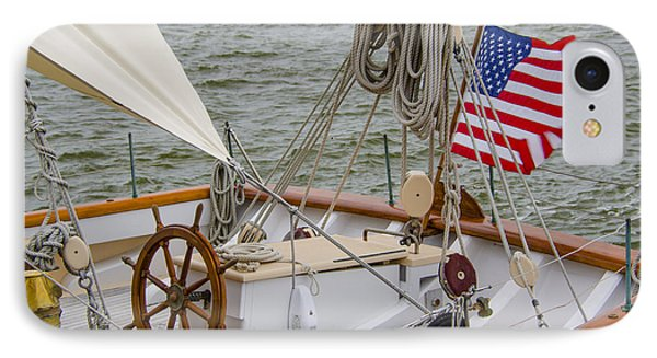 IPhone Case featuring the photograph Tall Ships by Dale Powell