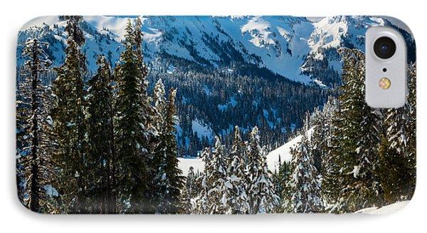 Tatoosh Winter Wonderland IPhone Case by Inge Johnsson