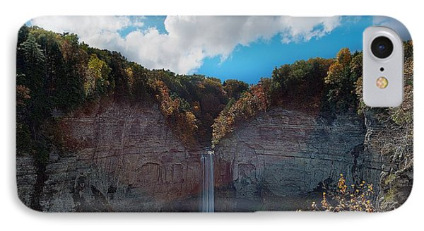 IPhone Case featuring the photograph Taughannock Falls Ithaca New York by Paul Ge