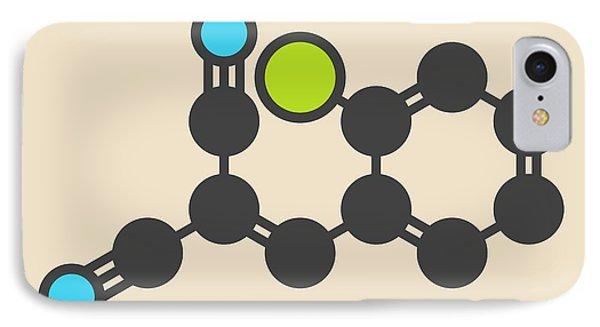 Tear Gas Molecule IPhone Case by Molekuul