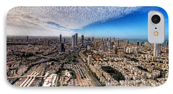 Tel Aviv Skyline IPhone Case
