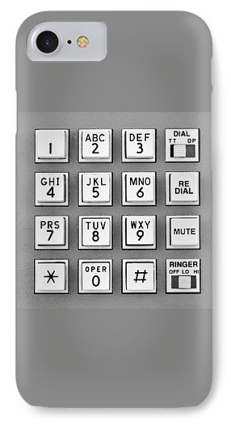 Telephone Touch Tone Keypad IPhone Case