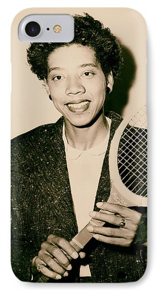 Tennis Great Althea Gibson 1956 IPhone Case