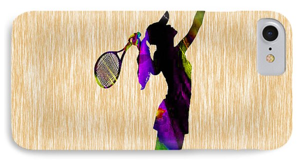 Tennis Match IPhone Case by Marvin Blaine