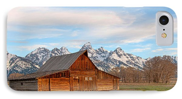 Teton Barn IPhone Case by Steve Stuller