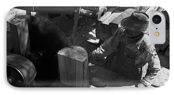 Texas Saw Mill, 1939 IPhone Case by Granger