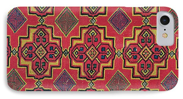 Textile With Geometric Pattern IPhone Case by Moroccan School
