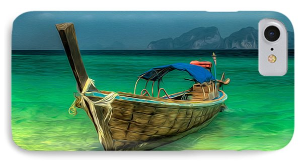 Thai Longboat IPhone Case by Adrian Evans