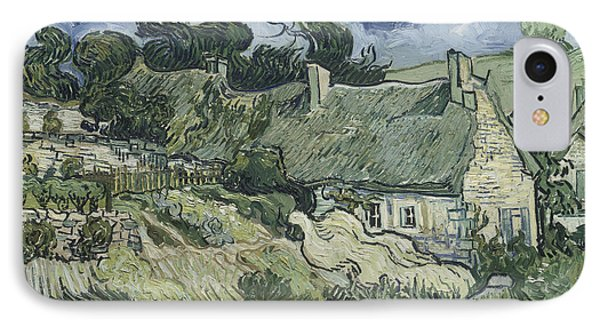 Thatched Cottages At Cordeville IPhone Case by Mountain Dreams