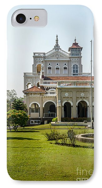 The Aga Khan Palace IPhone Case by Kiran Joshi