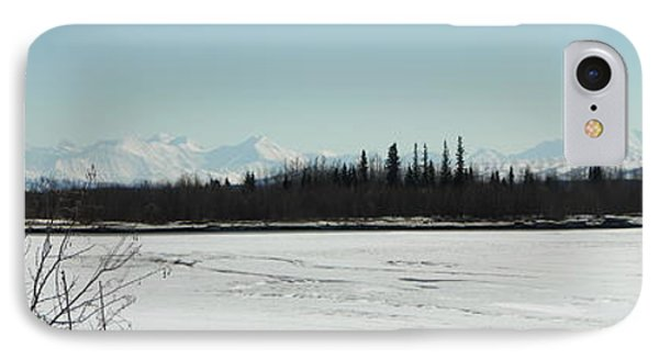 The Alaska Range Phone Case by Jennifer Kimberly