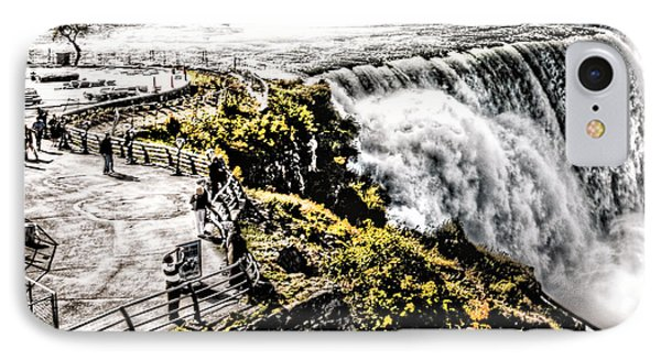 IPhone Case featuring the photograph The American Falls by Jim Lepard