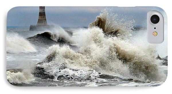 The Angry Sea Phone Case by Morag Bates