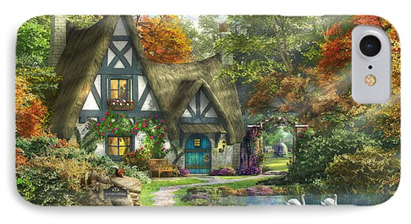 The Autumn Cottage IPhone Case