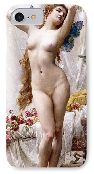 The Awakening Of Psyche IPhone Case by Guillaume Seignac