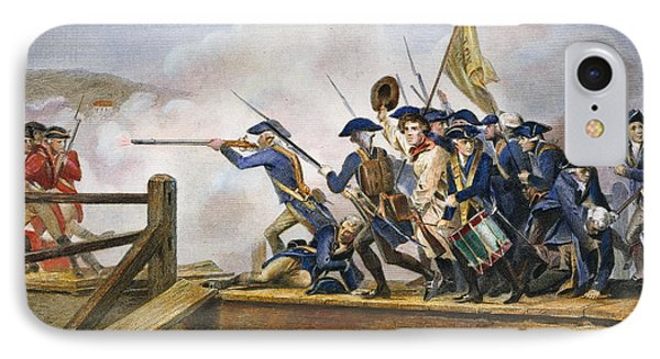 The Battle Of Concord, 1775 Phone Case by Granger