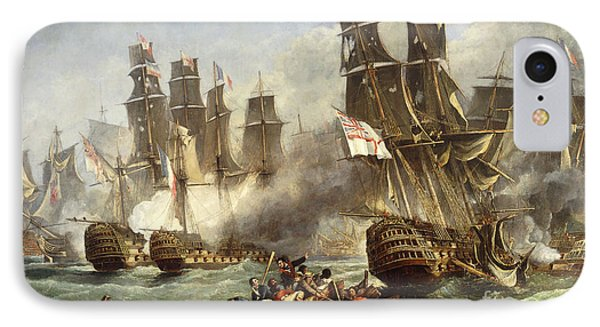 The Battle Of Trafalgar IPhone Case