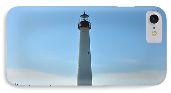 The Beacon Of Cape May Phone Case by Bill Cannon