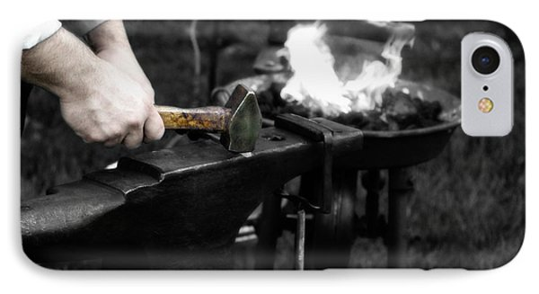The Blacksmith  IPhone Case by Steven Digman