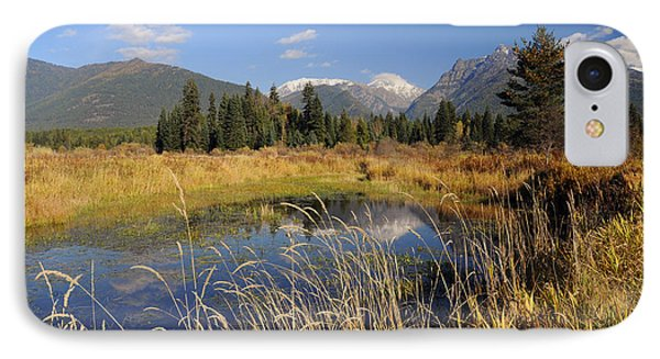 1123a The Cabinet Mountains  IPhone Case