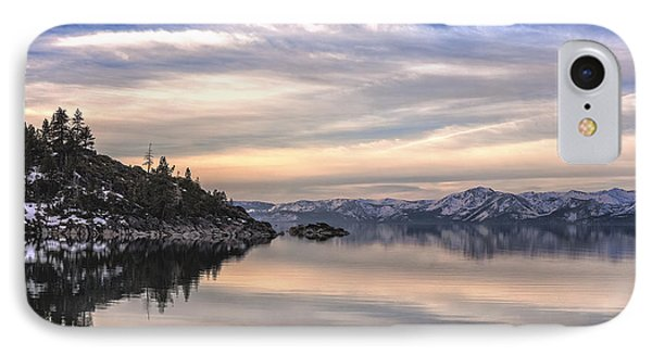 IPhone Case featuring the photograph The Calm After Dawn by Nancy Marie Ricketts