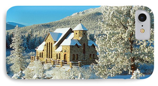 The Chapel On The Rock II IPhone Case by Eric Glaser