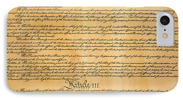 The Constitution, 1787 Phone Case by Granger