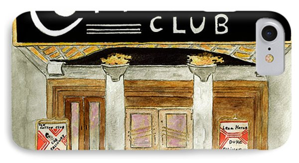 The Cotton Club IPhone Case by AFineLyne