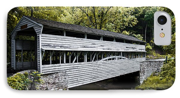 The Covered Bridge At Valley Forge IPhone Case