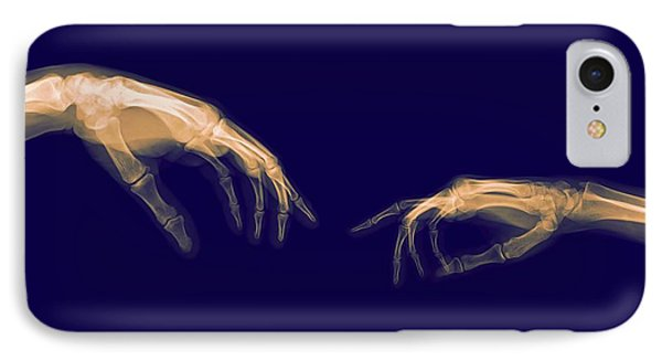The Creation Of Adam (michelangelo) IPhone Case by Photostock-israel