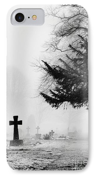 The Cross IPhone Case by Tim Gainey