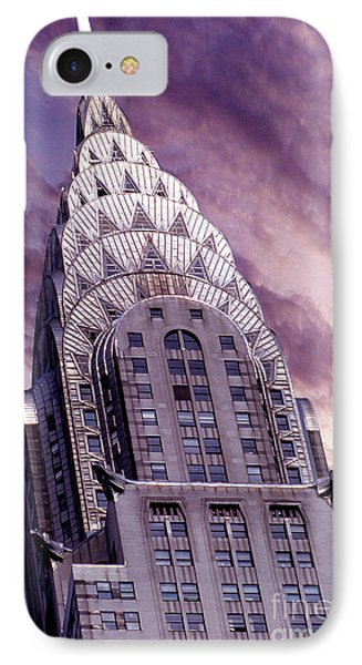 The Crysler Building IPhone Case