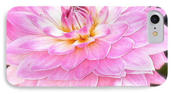 The Vivid Pink Dahlia IPhone Case by Margie Amberge