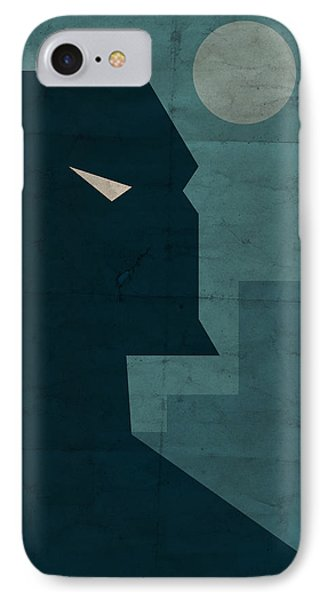 IPhone Case featuring the digital art The Dark Knight by Michael Myers