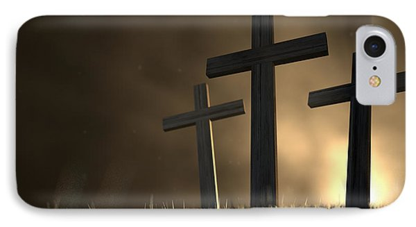 The Early Morning Crucifixion IPhone Case