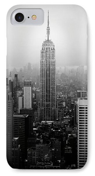 The Empire State Building In New York City Phone Case by Ilker Goksen