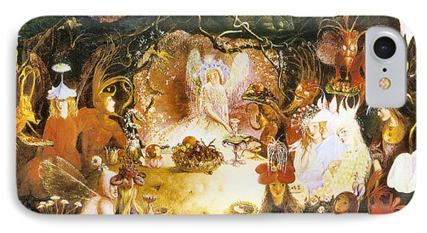 The Fairies Banquet Phone Case by John Anster Fitzgerald