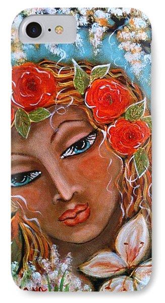 The Fairies In Merlynn's Garden IPhone Case by Maya Telford