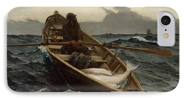 The Fog Warning IPhone Case by Winslow Homer
