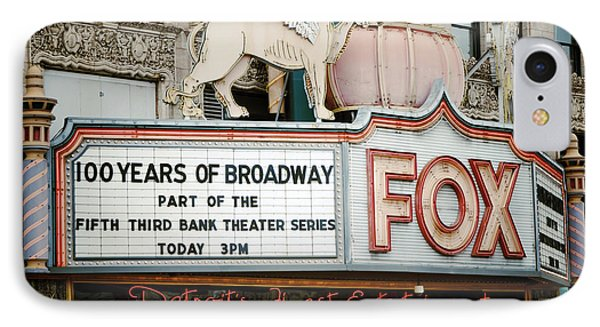 The Fox Theatre IPhone Case