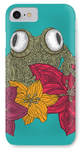 The Frog IPhone 7 Case by Valentina Ramos