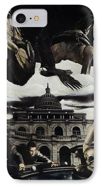 The Ghosts Of Capitol Hill Phone Case by Ken Howard