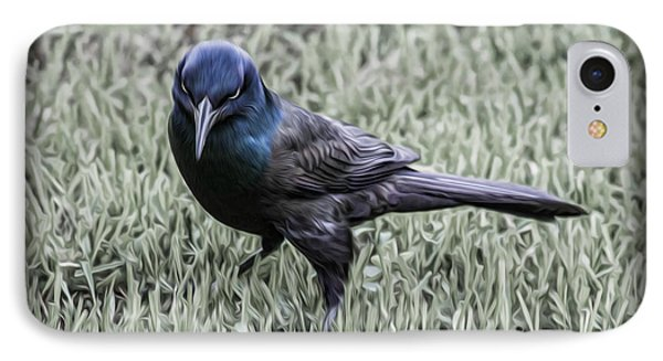 The Grackle IPhone Case by Jeff Swanson