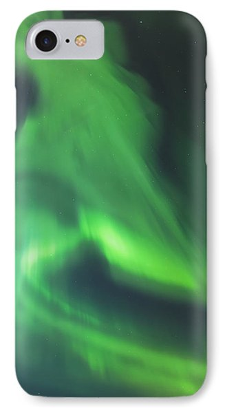 The Green Northern Lights Corona Phone Case by Kevin Smith