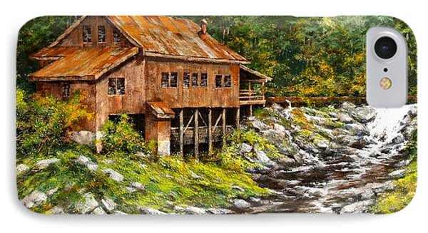 The Grist Mill Phone Case by Jim Gola