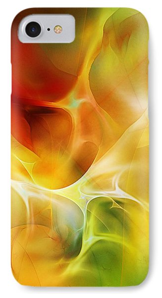 IPhone Case featuring the digital art The Heart Of The Matter by David Lane