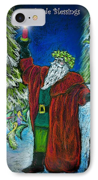 The Holly King IPhone Case by Diana Haronis