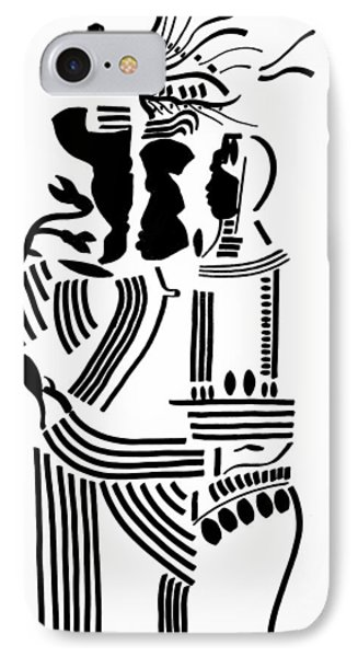 The Holy Family Phone Case by Gloria Ssali