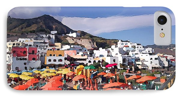 IPhone Case featuring the photograph The Island Of Ischia Sant'angelo by Ze  Di